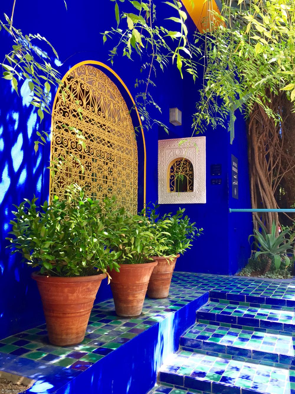Entrance of the fabulous Berber Museum.值得一看的「柏柏爾人博物館」的入口。