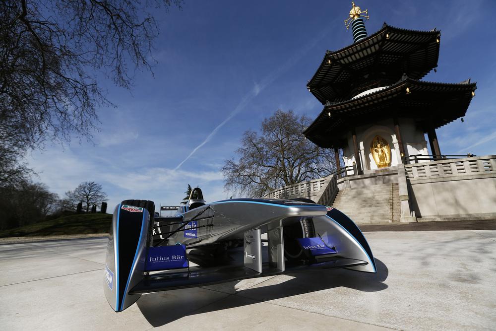 ePrix London will take place in the leafy Battersea Park by the River Thames. 坐落于泰晤士河畔的巴特西公園是倫敦電動方程式的賽場。(Image:FIA Formula E)