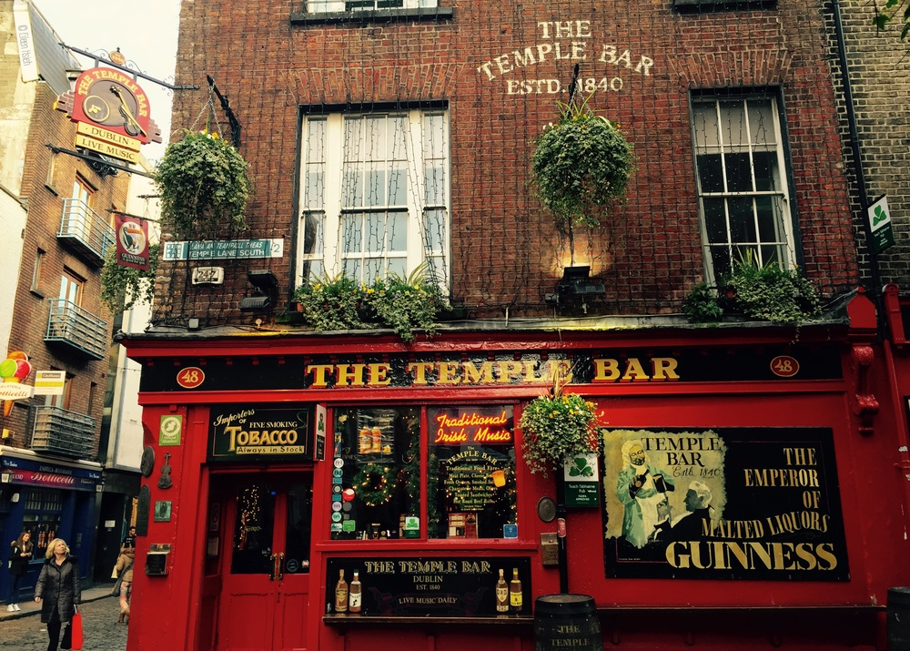 If you only take one photo of Temple Bar,  The Temple Bar  is the shot you need.