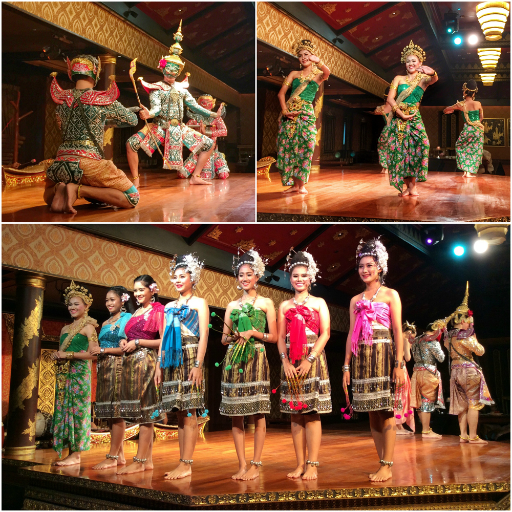 Spectacular dinner and dance show at the Sala Rim Naam. © Eileen Hsieh