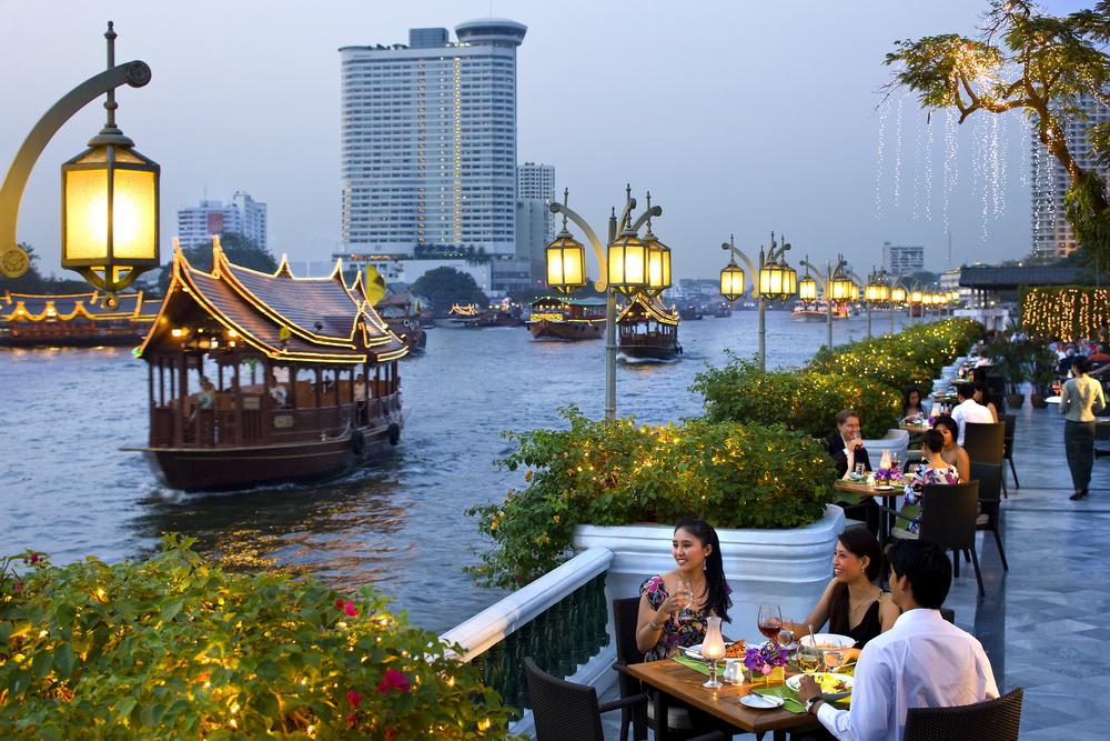 Al fresco dining at Mandarin Oriental Bangkok. (Image:Mandarin Oriental)