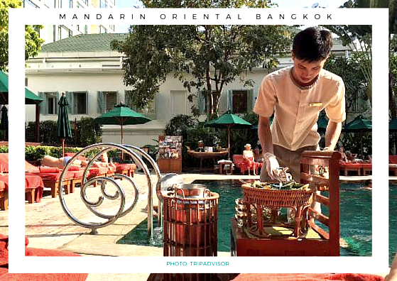 Mandarin Oriental Bangkok ice cream cart TripAdvisor follow that bug followthatbug