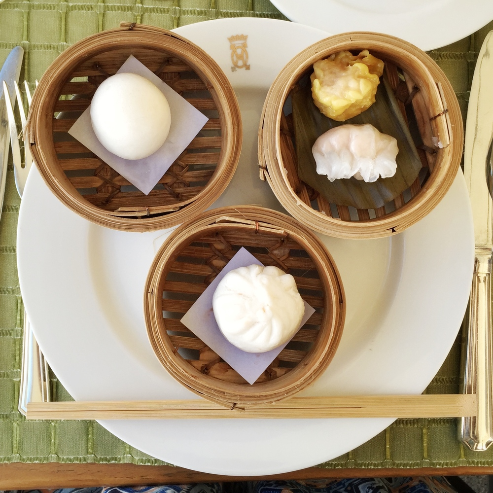 Dim sum for breakfast. © Eileen Hsieh