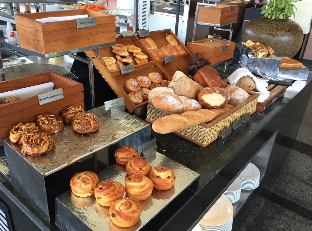 Delicious pastries and breads are also on offer. © Eileen Hsieh