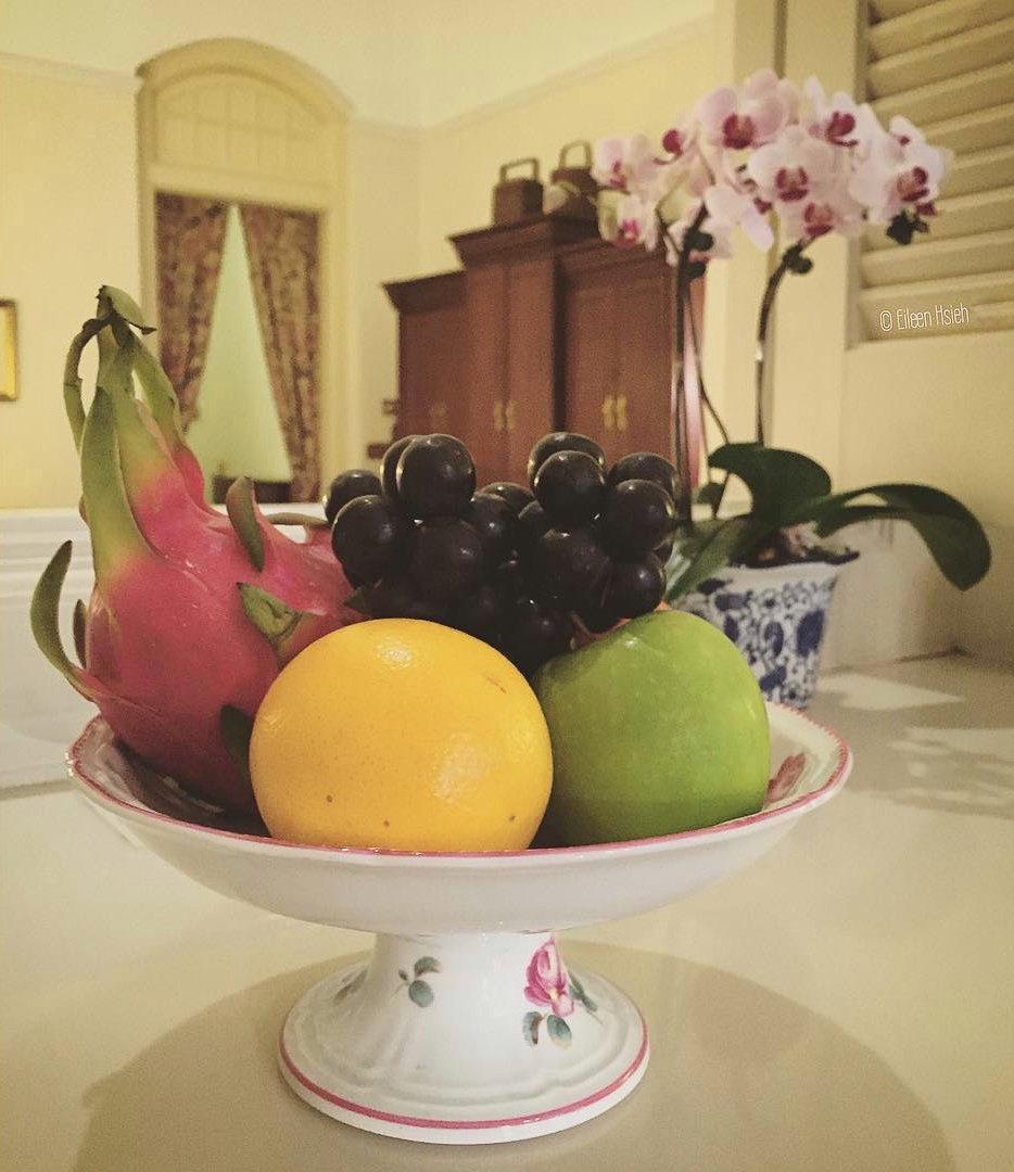 Fresh fruits in the room. © Eileen Hsieh