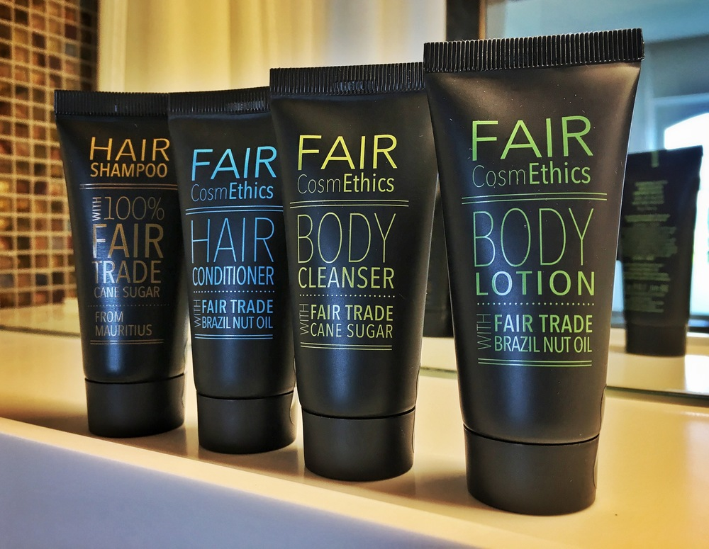 Fairtrade toiletries. / © Eileen Hsieh