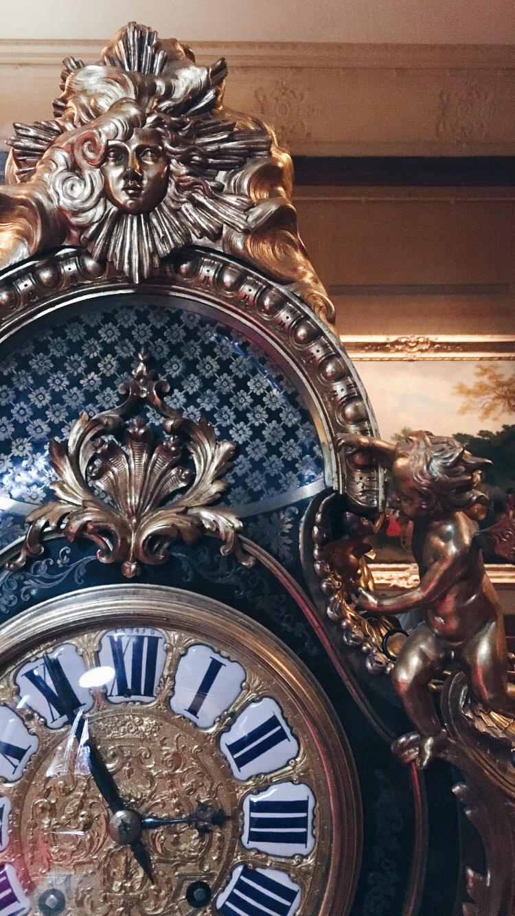 Eileen Hsieh follow that bug Waddesdon Manor clock.jpg
