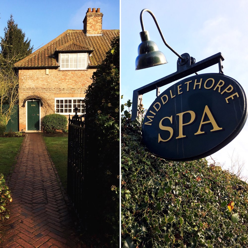Middlethorpe Hall Spa entrance eileen hsieh followthatbug York England UK