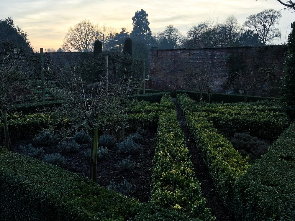Another view of the kitchen garden. © Eileen Hsieh / Follow That Bug