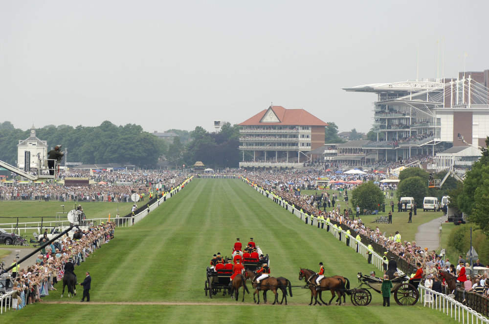 York Racecourse - York has a steep history in horse racing that can be traced back some 2,000 years to the Roman and Viking times. Today it's one of the most famous racecourses in Europe and the reigning