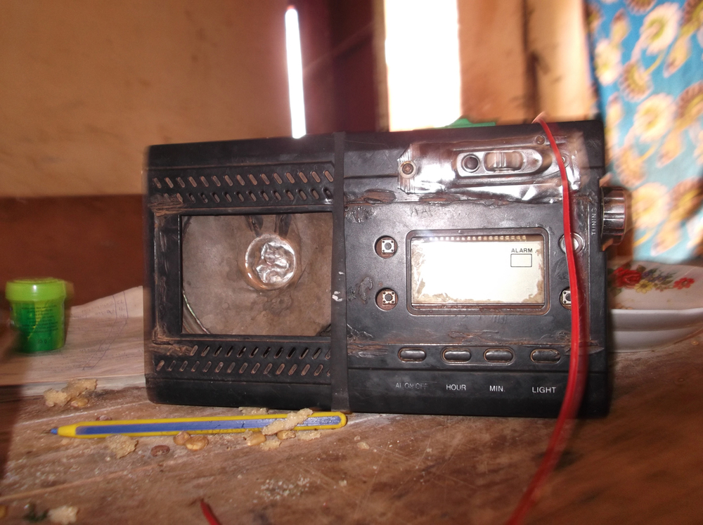 I listen to the radio to find out what is happening in our country. We bought it recently after my mum got the money. Before we had it we used to find out what was happening from a neighbour.  © Michael Kyalo Ngei 2012 / ODI / PhotoVoice