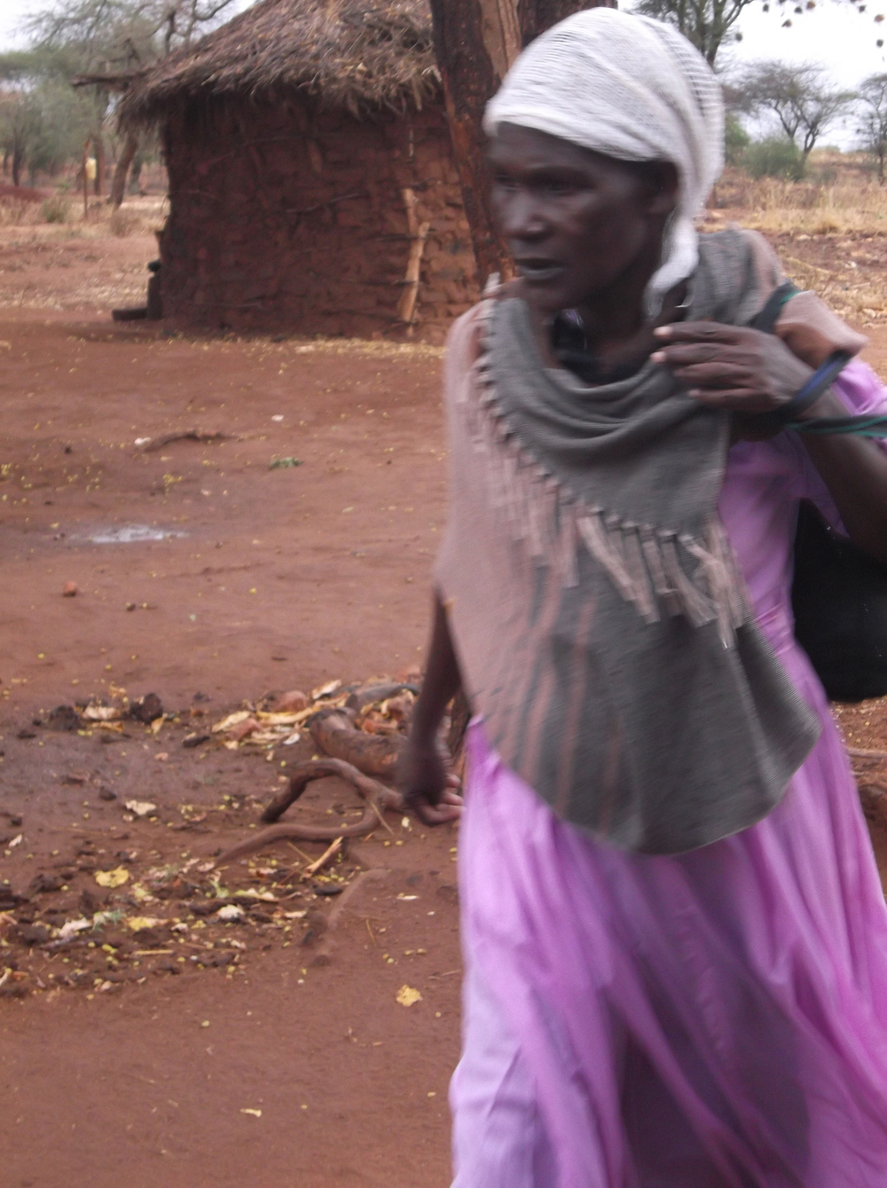 This is my grandmother, when she received the money she could buy me what I needed.  © Mwendwa Mutuku 2012 / ODI / PhotoVoice
