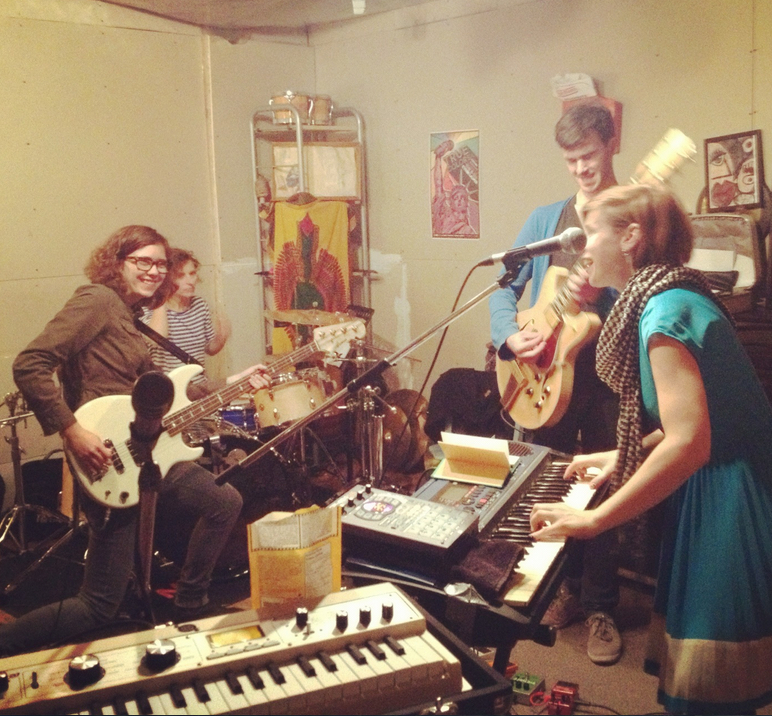 Full band practice for our Toronto show! Hope to see you there.