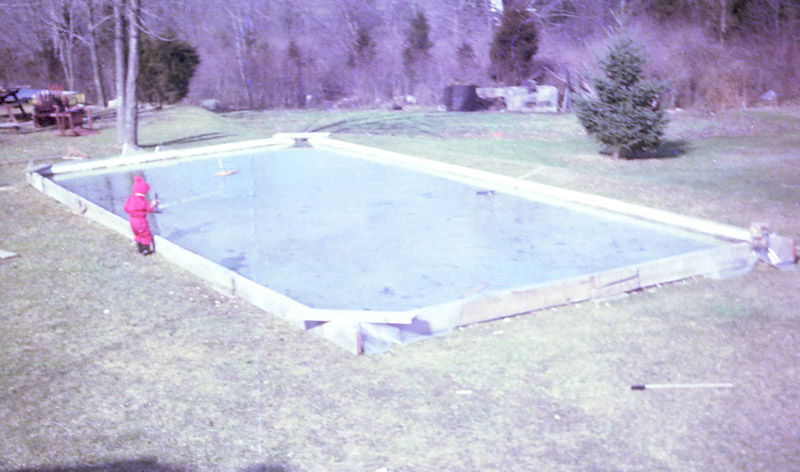 How To Build Ice Rink In Backyard backyard ice rinks — dadstruction