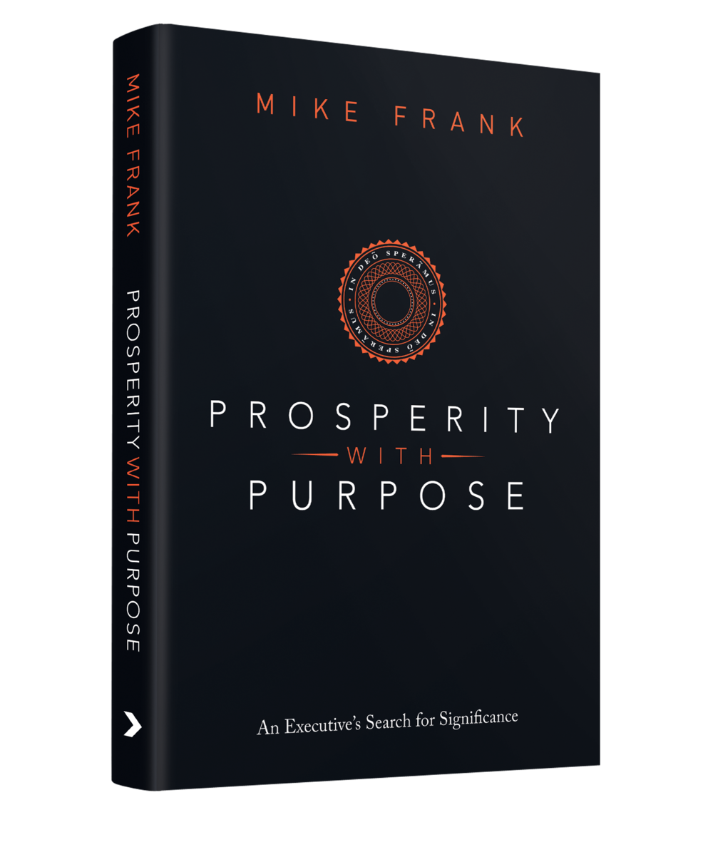Book Cover Design / Prosperity with Purpose