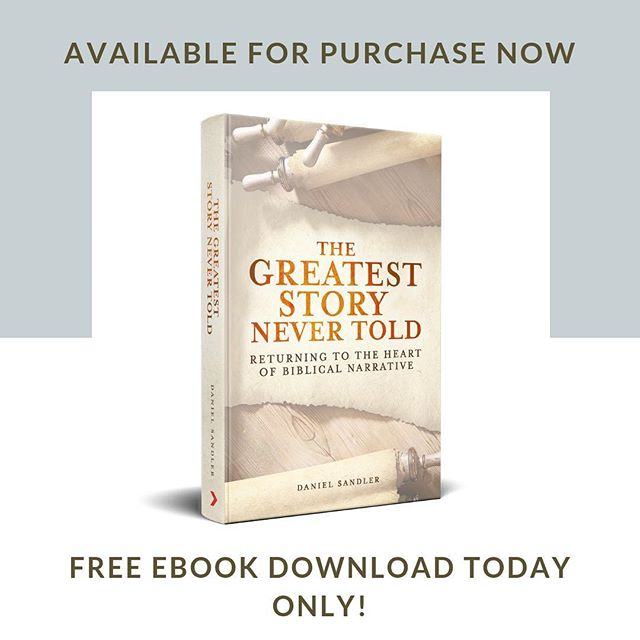 """AVAILABLE NOW FOR PURCHASE // FREE EBOOK FOR 24 HOURS . . """"The Greatest Story Never Told: Returning to the Heart of Biblical Narrative was one of the most enlightening books I've read on how to read and understand the Bible. Enjoyable, readable, and full of those 'aha' moments when something often misunderstood becomes clear. I recommend this book for all pastors and followers of Jesus who want to grow in their understanding of Scripture. It should be required reading for every student of the Bible."""" - """"Pastor Brian Lavender, Calgary, Alberta, Canada . . Purchase by clicking the link on our profile! . . .  #bible #reading #read #theology #books #theologians #bethel #christian #fortheloveofreading #faithbased #christianfaith #faith #scripture"""