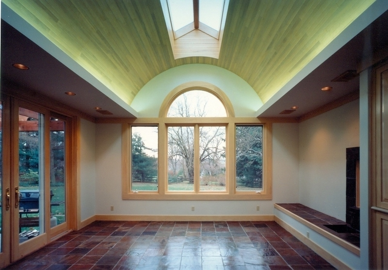 Vaulted Ceiling, Ash and Maple, 1996