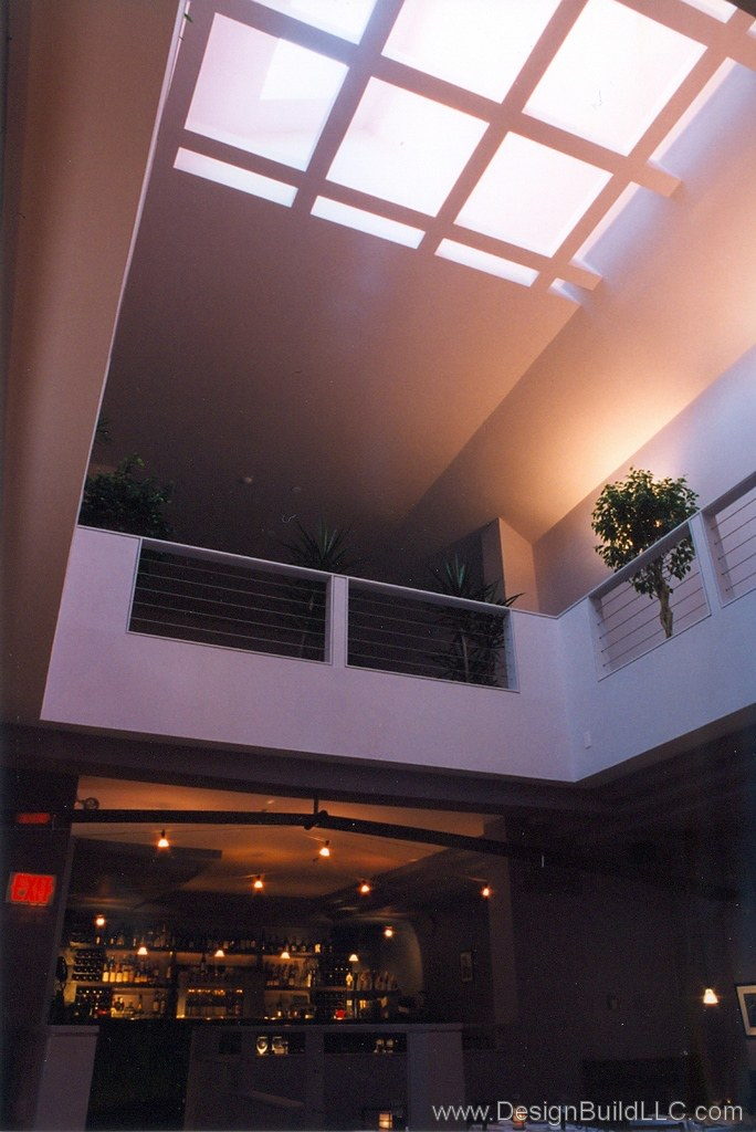 New Atrium and Skylight