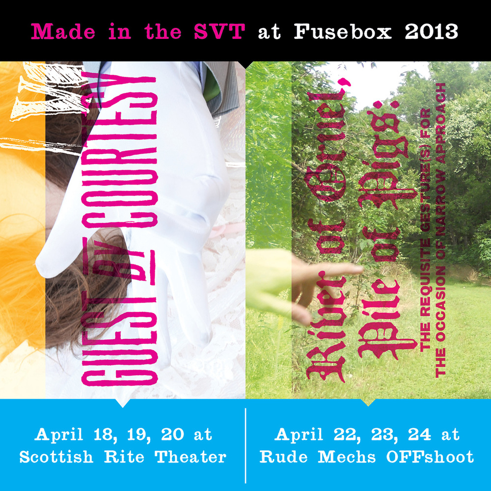 Svt At Fusebox 2013 Guest By Courtesy And River Of Gruel Salvage Fuse Box O Vanguard Theater