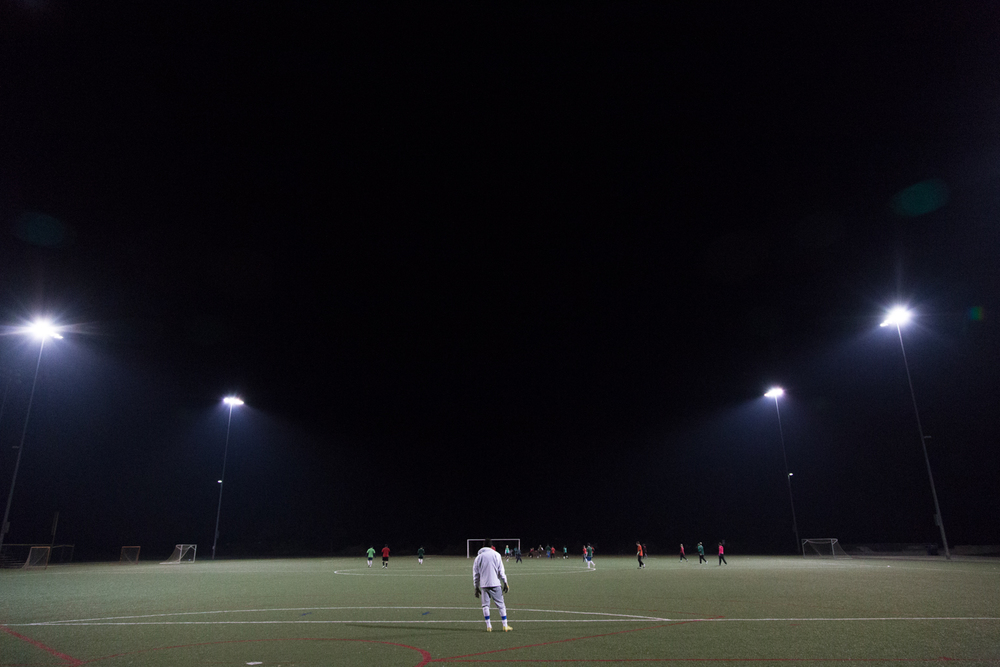 Recreational Adult Team  Soccer Finals at Woodland Park