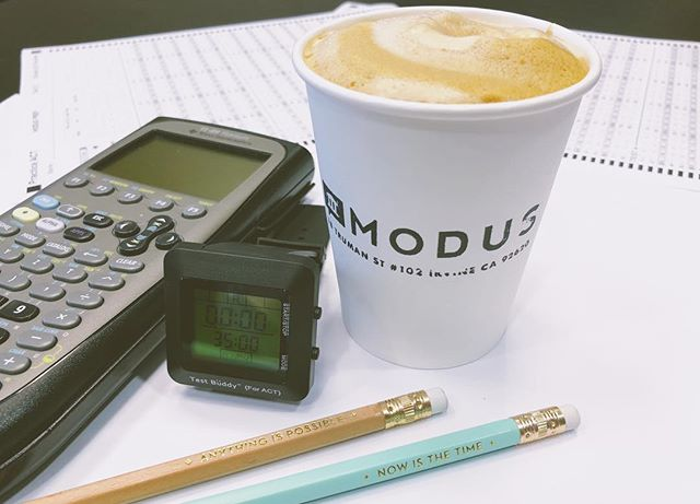 Now is the time. Anything is possible.  On test day, Modus coffee is not permitted, @thetestbuddy ACT watch is test-legal and permitted, inspirational #2 pencils from Josephine are allowed 😉, TI-92 and TI-89 (pictured) calculators are prohibited, and positive mindsets are mandatory. *ACT practice test in Cypress this Friday at 4pm and Irvine on Saturday at 10am. #studynowplaylater ✌🏼