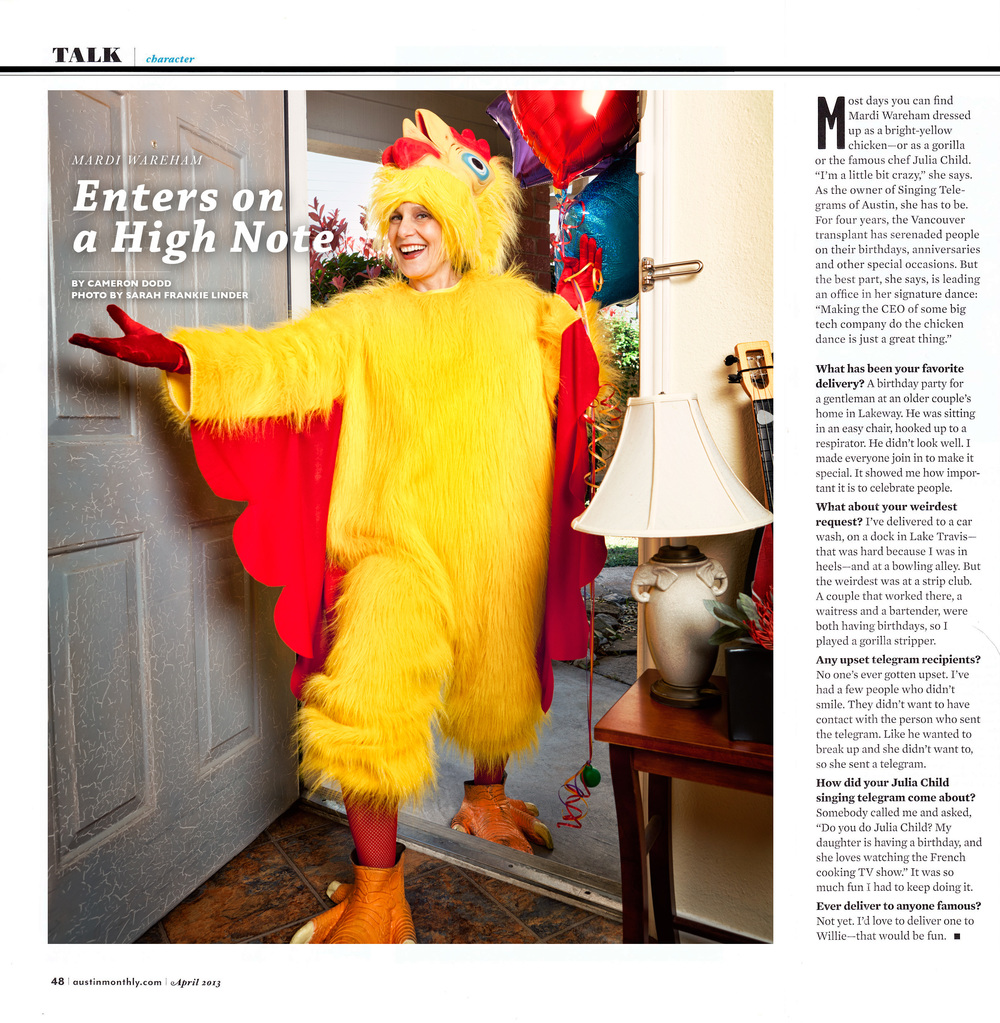 AUSTIN MONTHLY // APRIL 2013