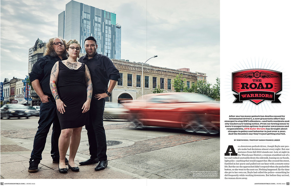 FEATURE // AUSTIN MONTHLY // JUNE 2015