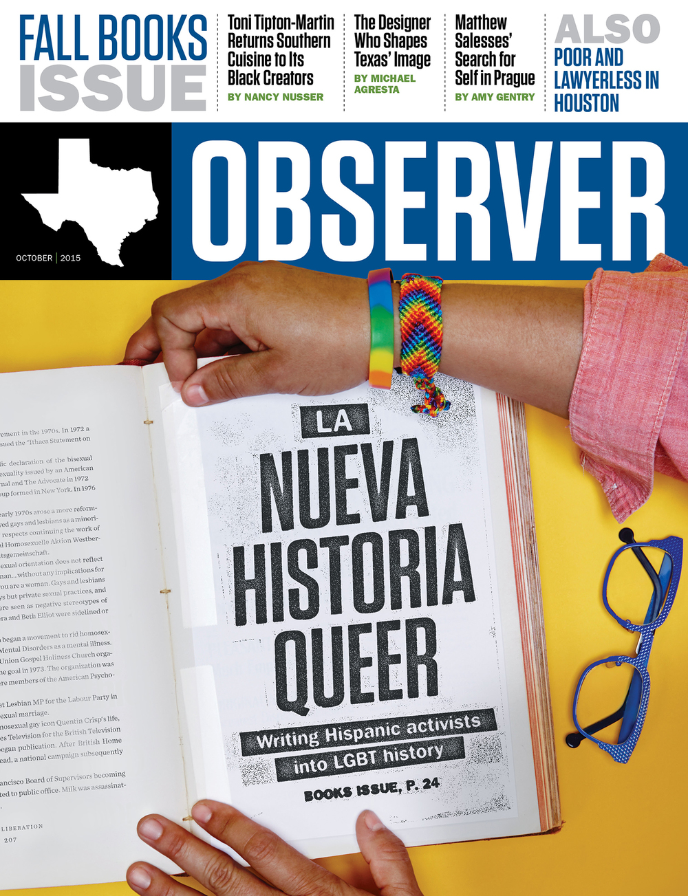 COVER // THE TEXAS OBSERVER // OCTOBER 2015
