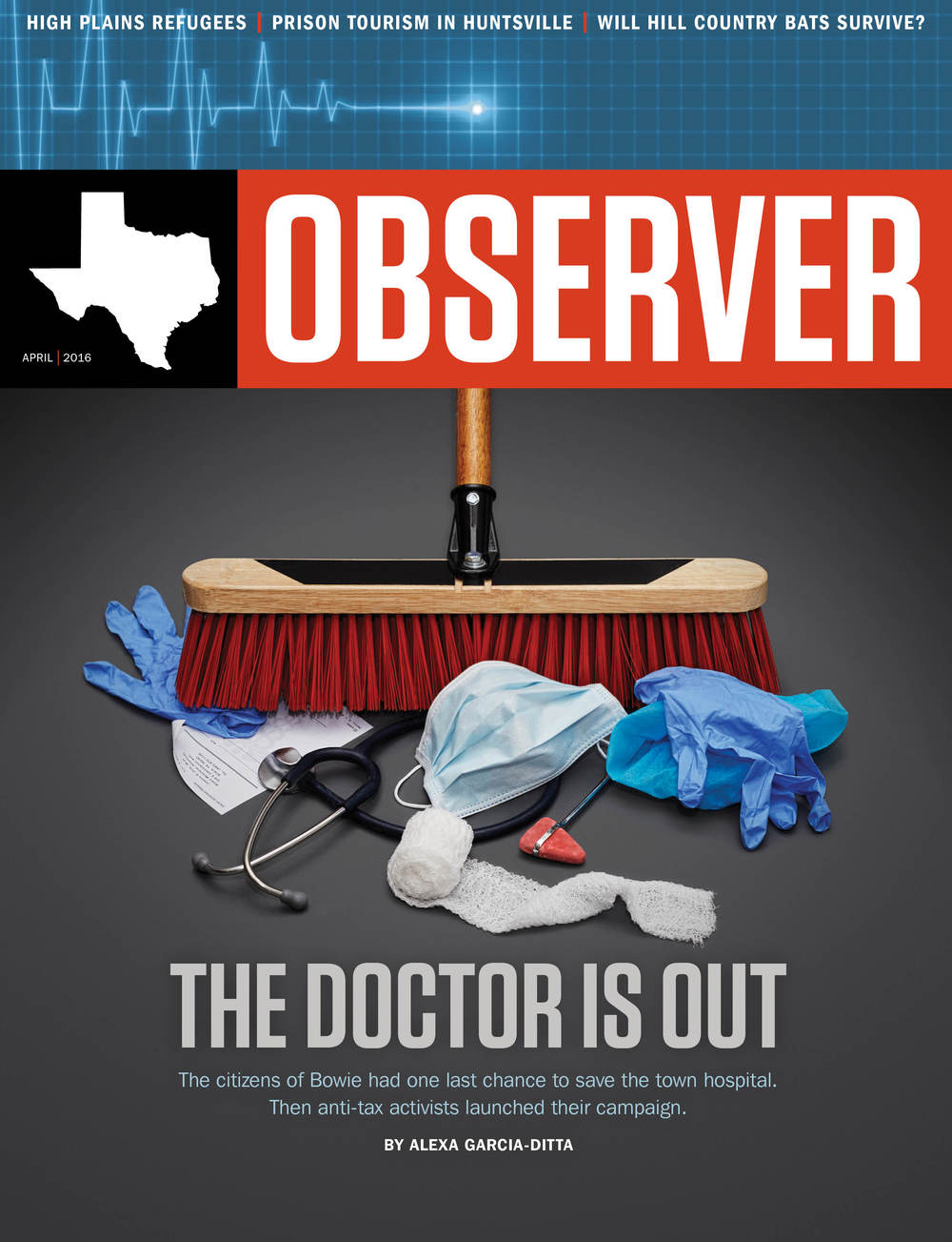 COVER // THE TEXAS OBSERVER // APRIL 2016