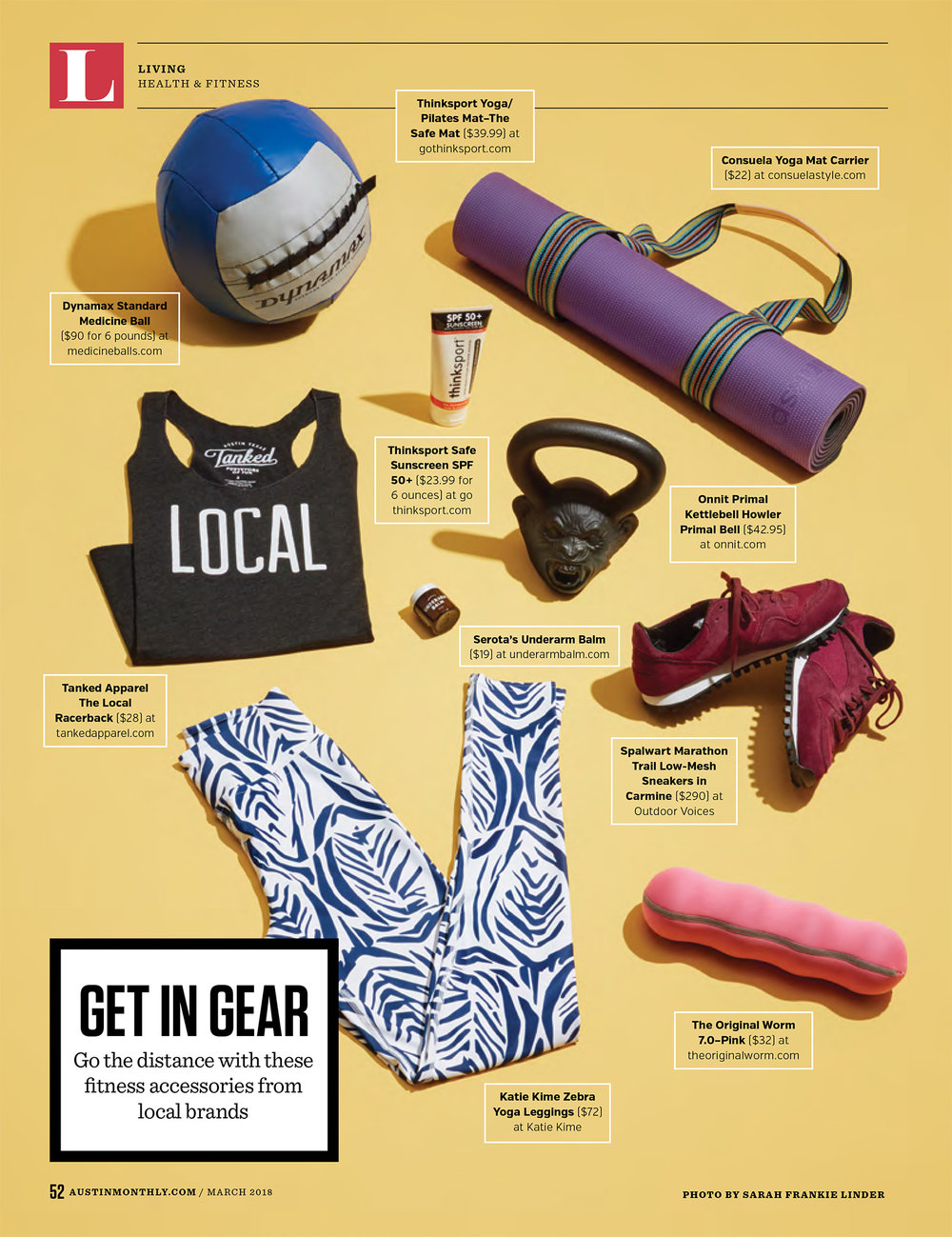 Austin Monthly // March 2018 // Fitness Trends