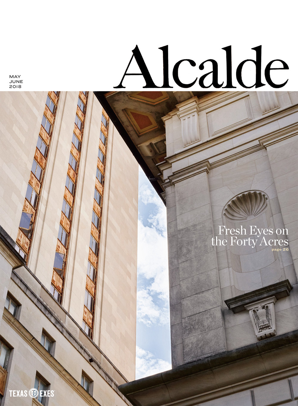 The Alcalde // May June 2018 // Cover