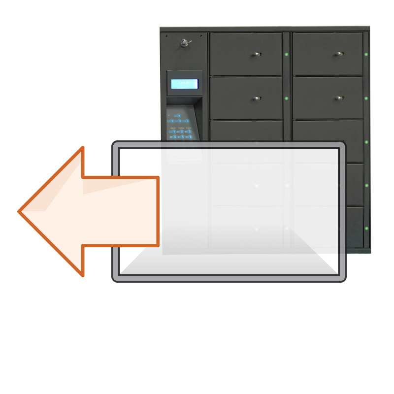 Asset lockers for storing valuable company items