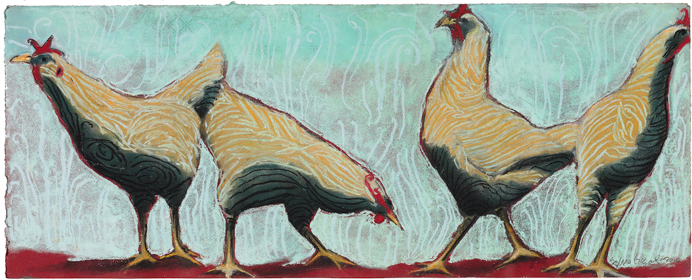 Studio chickens