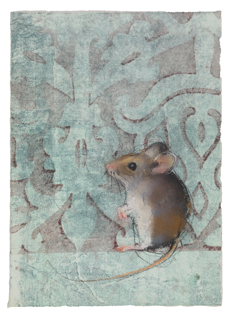 Mouse on GReen
