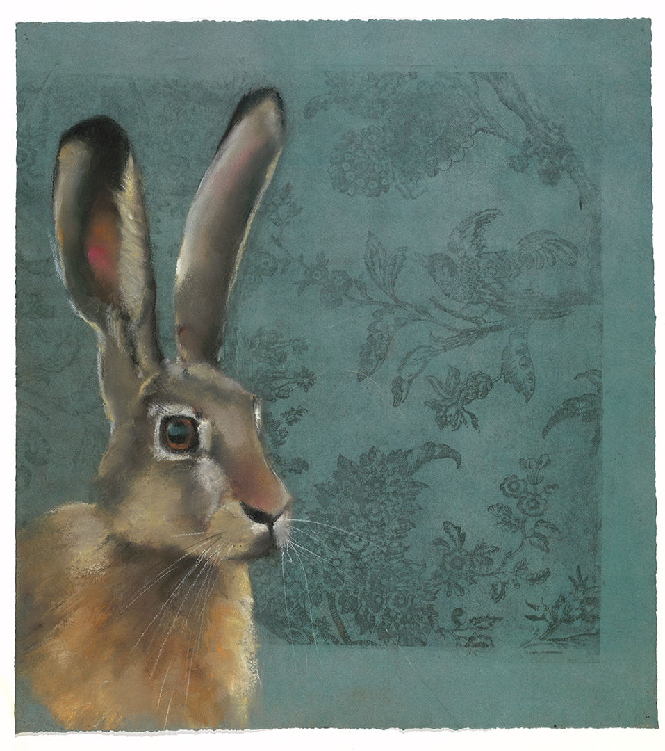 Rabbit on Toile #42