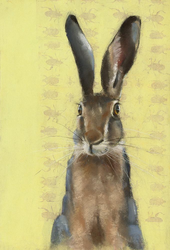 Rabbit on Yellow
