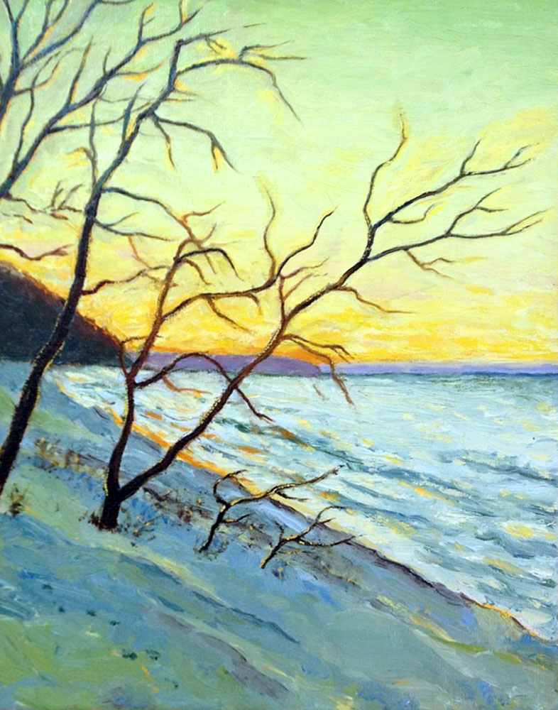 Winter Beach