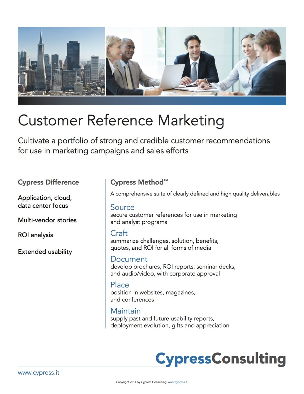 Customer Reference Marketing