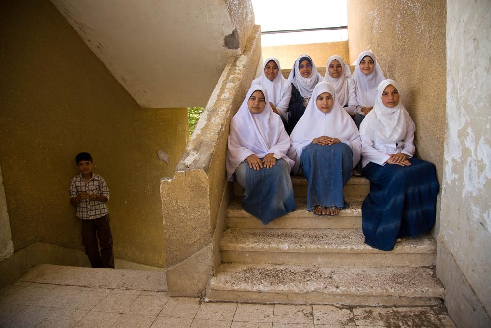 Segregation. Beni Suef, Egypt.