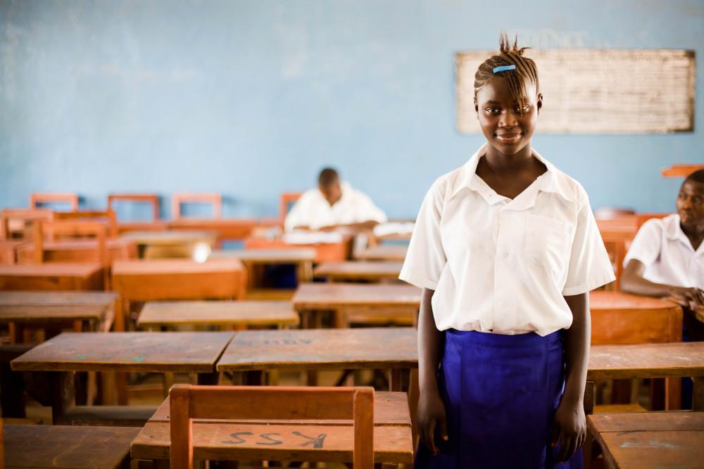 Star student. Sierra Leone.