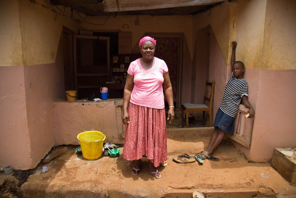 Antihawa, community elder. Murraytown, Sierra Leone. 