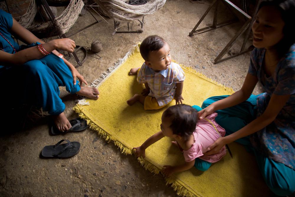 Bhaktapur babies.