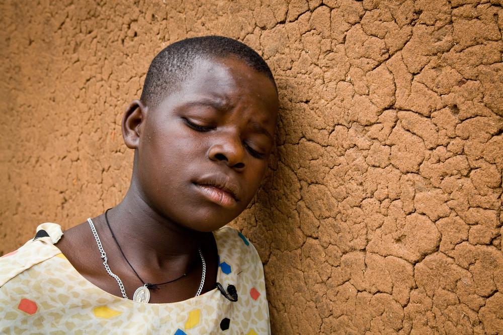 AIDS orphan. Uganda.