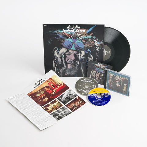 Dr. John's locked down came with an affordable pre-sale option that included the CD and Vinyl.