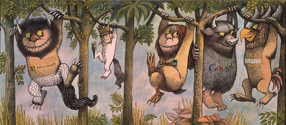 The boy in the picture (second character with the crown) is Max who goes to where the wild things are in the story and he represents our lost talent.