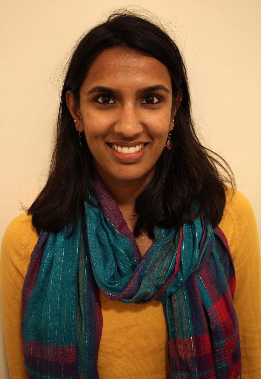 Vrinda Bhandari (India & Magdalen 2012)
