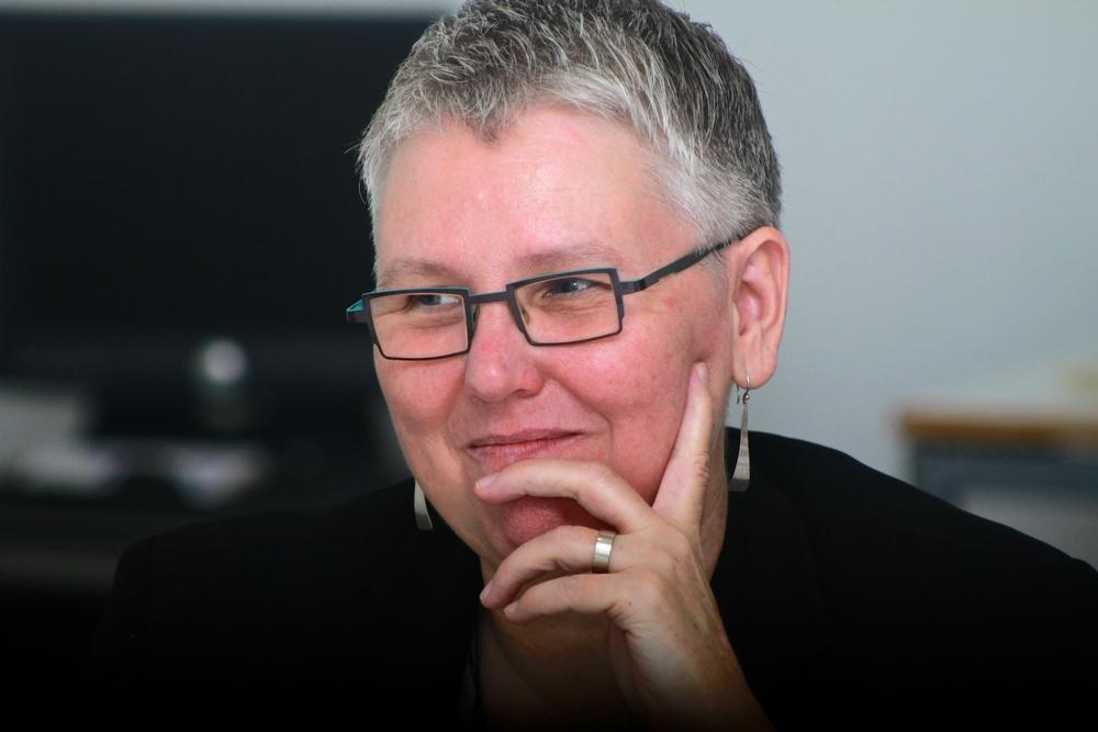 Rhodes Project Director Susan Rudy