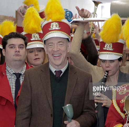 On Set: Saturday Night Live Season 40 / Teacher Snow Day Digital Short - JK Simmons and Bobby Moynihan (from Getty Images)