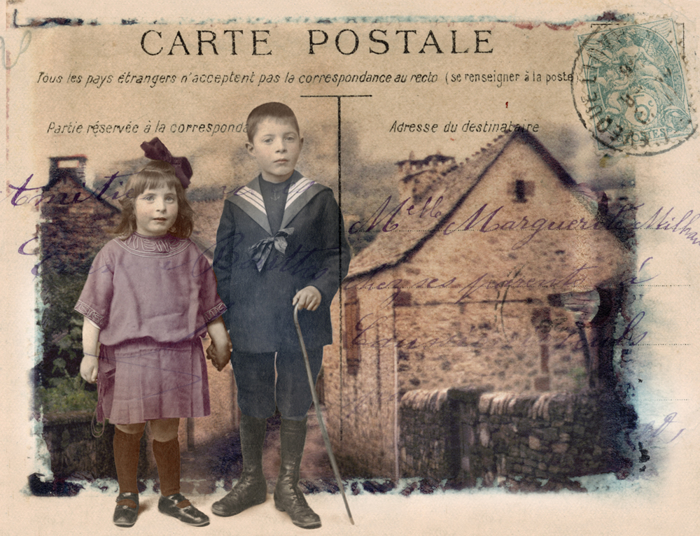 Carte Postale: French Children