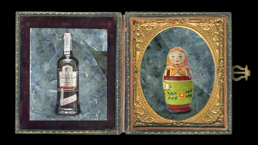 Russian Icons: Diptych